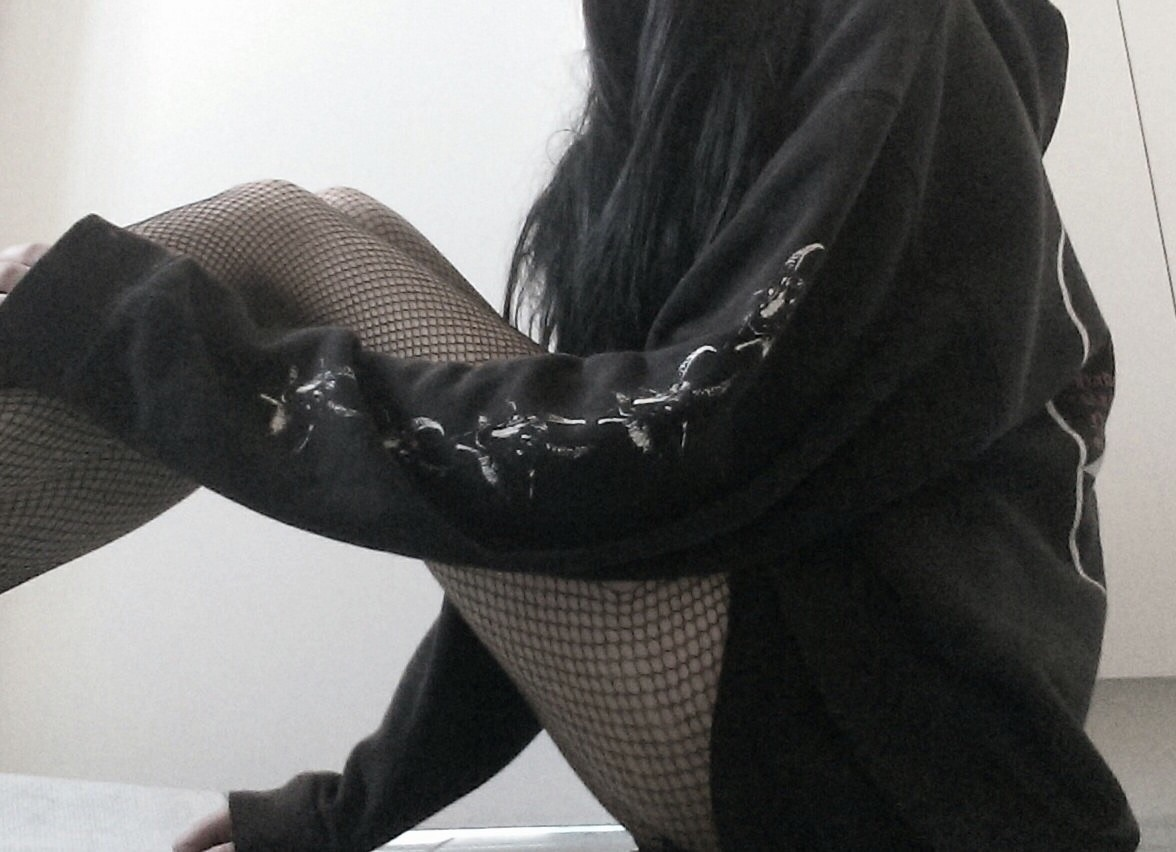 edgy, tumblr grunge, aesthetic and black aesthetic