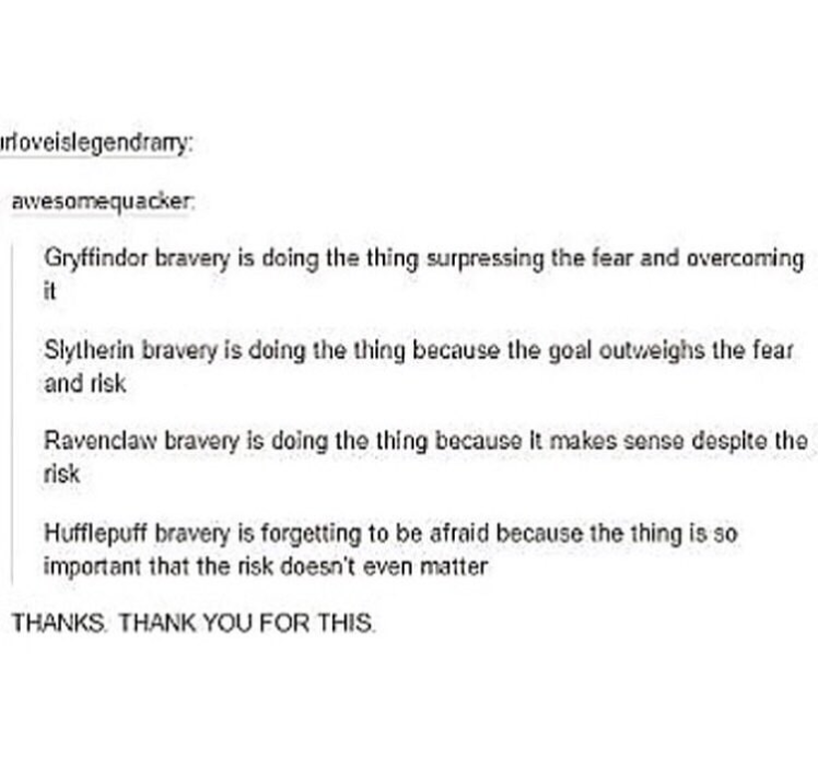 slytherin, gryffindor, ravenclaw and hufflepuff