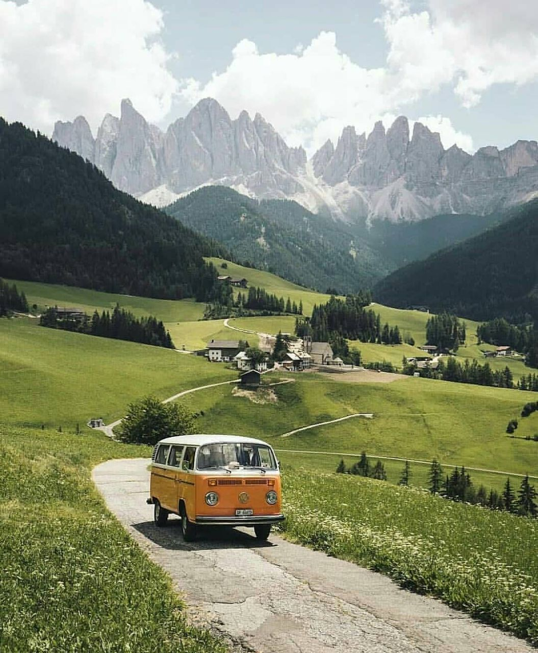dream place, alps and dolomites