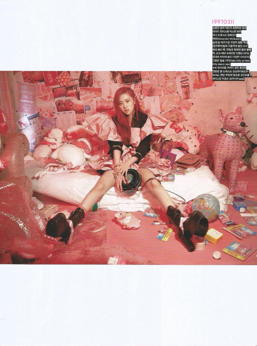 rose, vogue korea, blackpink rose and blackpink
