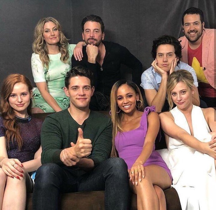 sprousehart, madelaine petsch, cole sprouse and casey cott