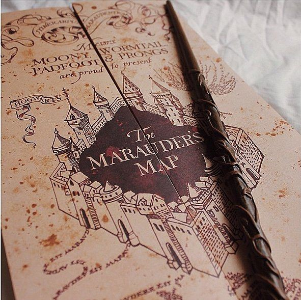 the marauder39s map, harry potter, fred and weasley