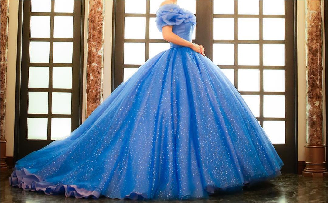 Aesthetic Dress Blue And Disney Princess Image 6032477 On Favim Com