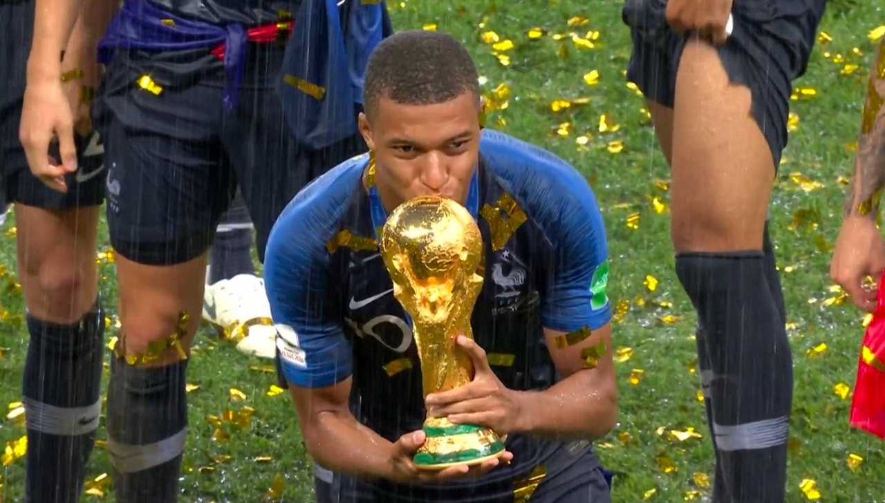 champion, football, french and russia