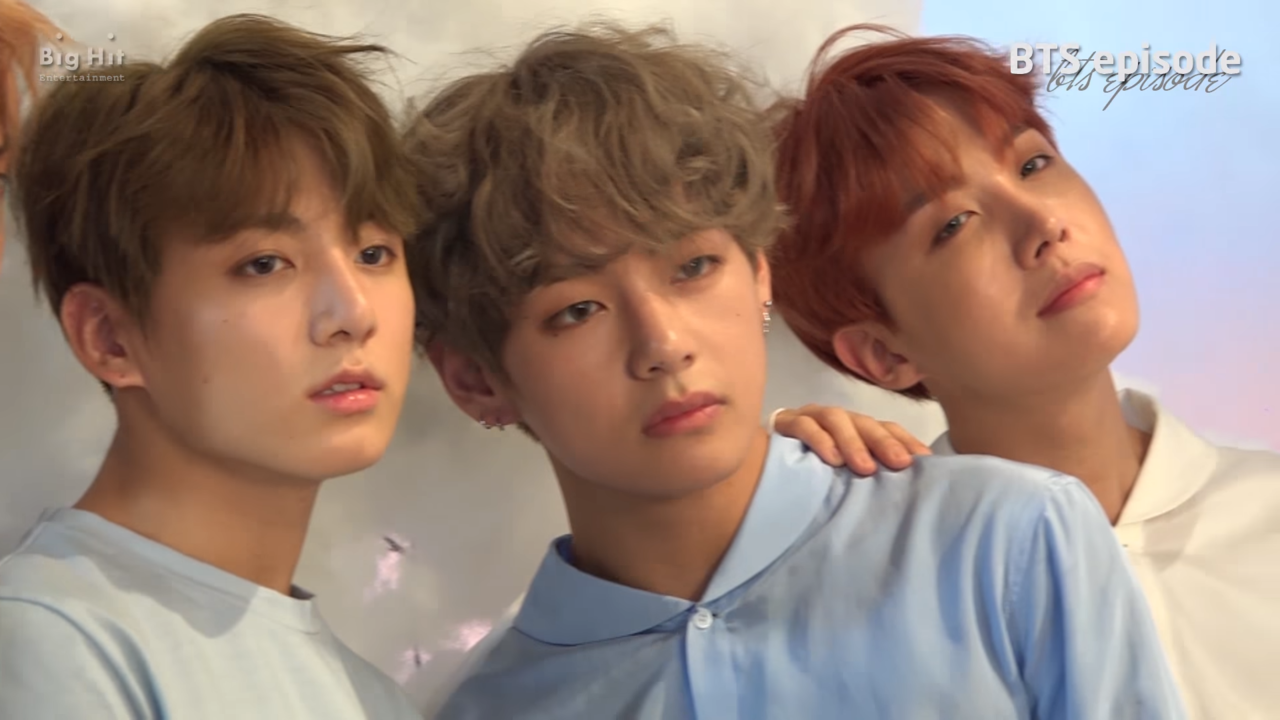 taehyung, lq, jungkook and v