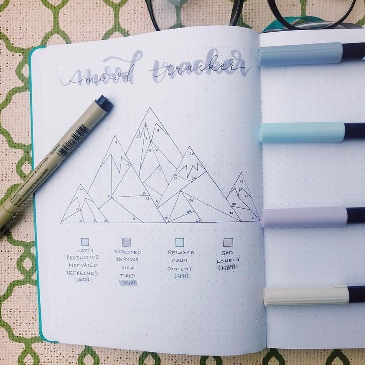 bullet journal, study, life and brain