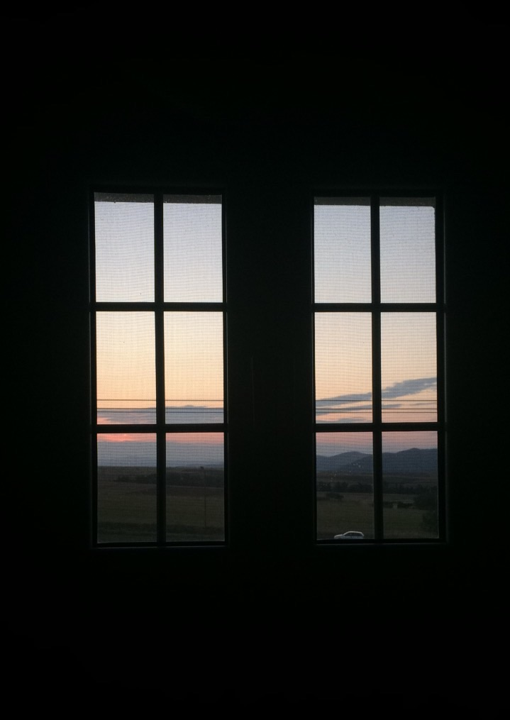 home, morning, beautiful and sunset