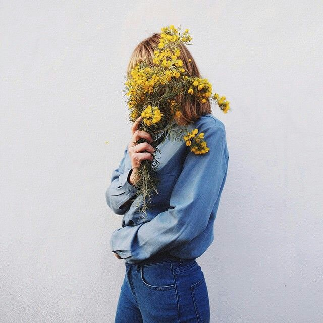 photography, flowers and girls