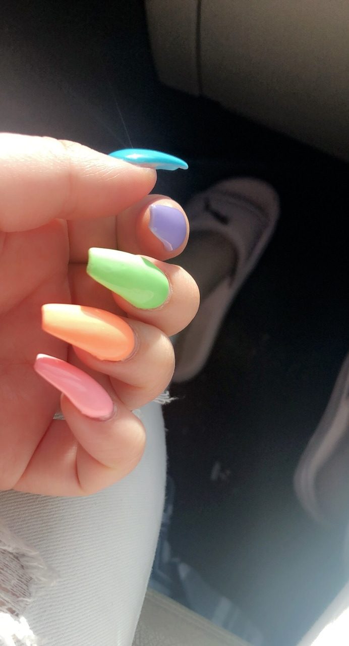 nails, inspo, nail and shape