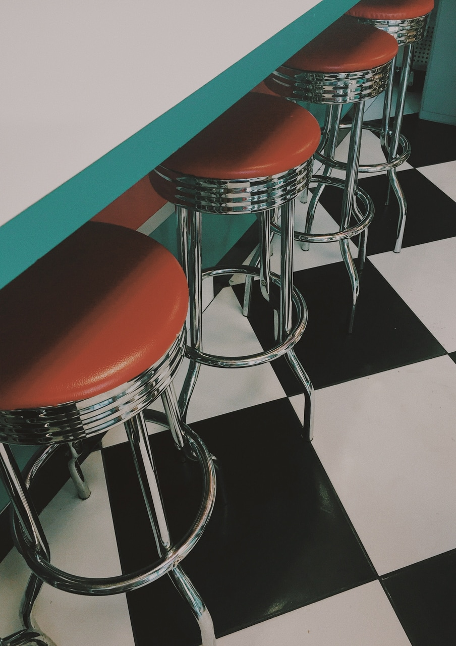 retro, vintage diners, retro aesthetic and vintage aesthetic