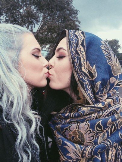 lesbian couple, love, love is love and kissing