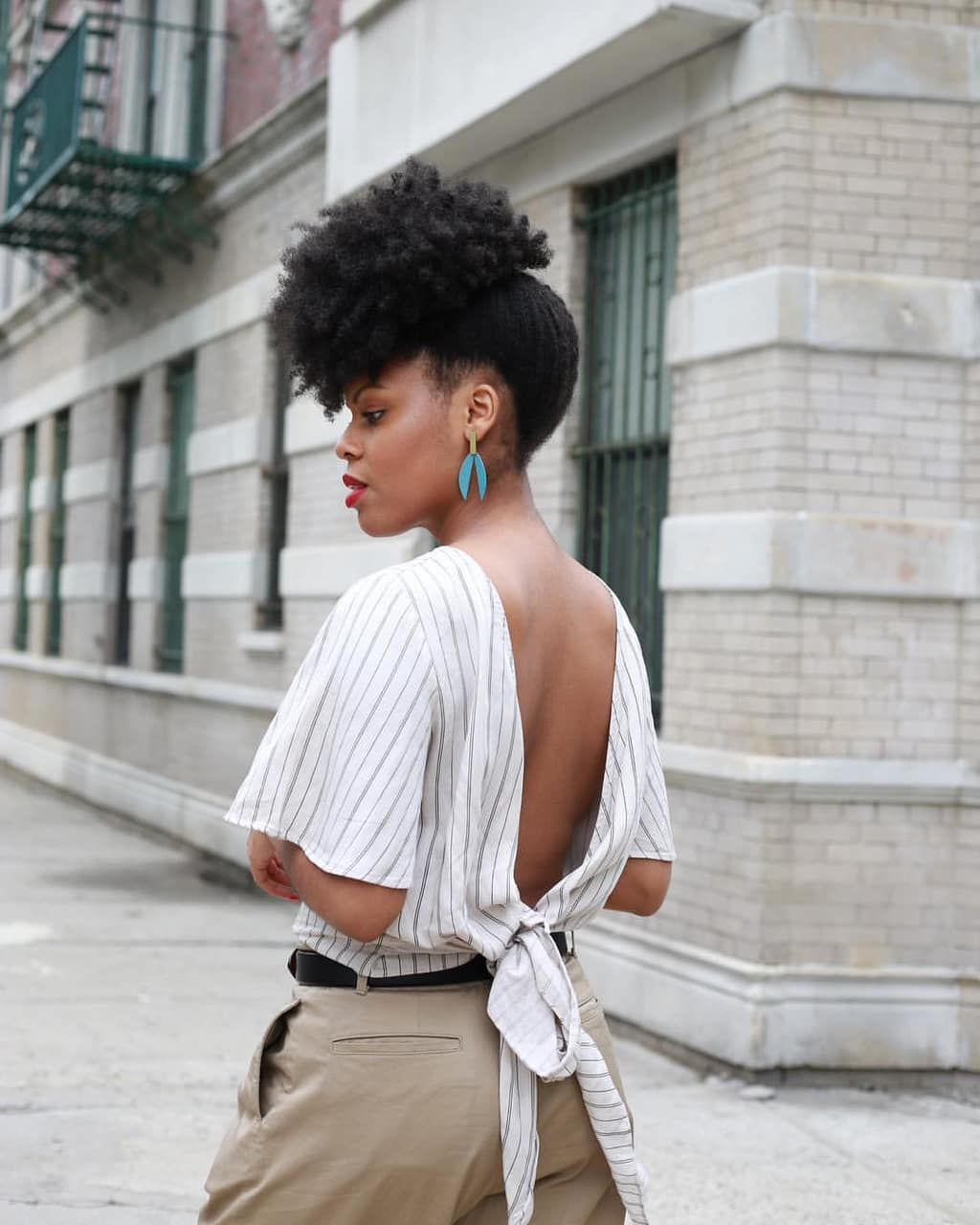texture, healthy hair, black women and updo hairstyle