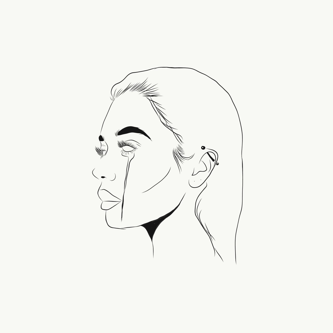 draw, outlines, outline and girl outline