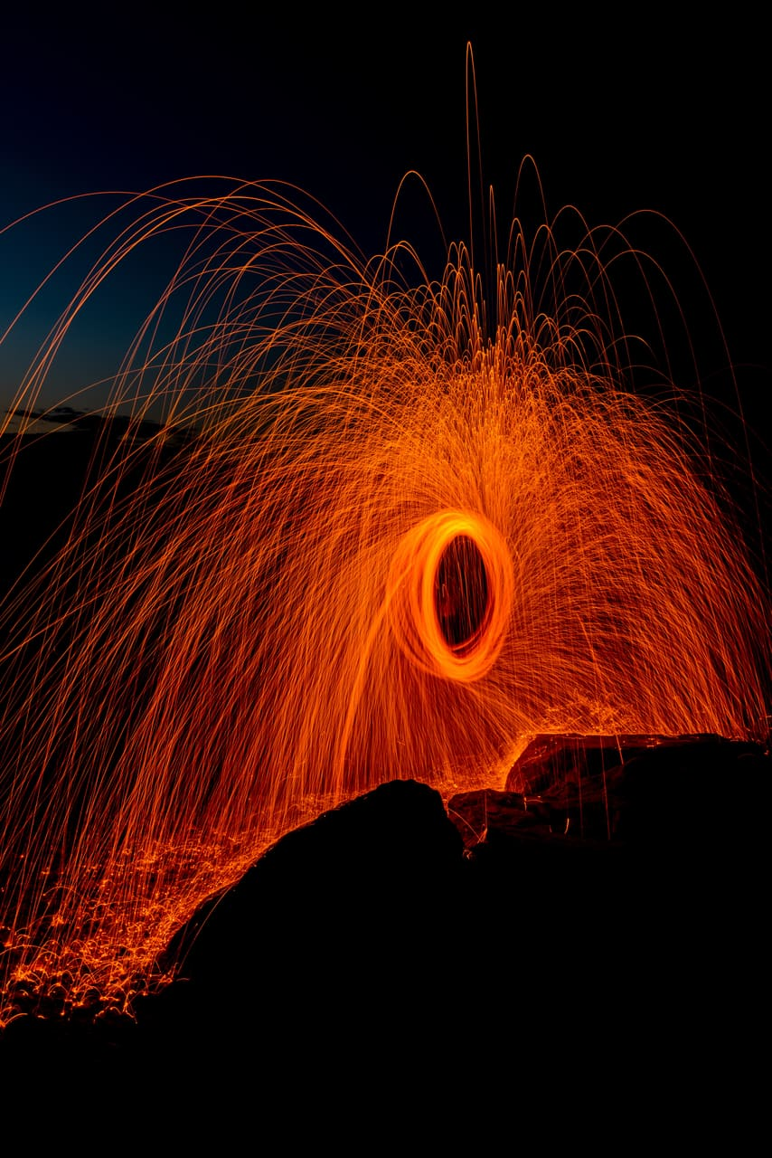 photography, hot and lava
