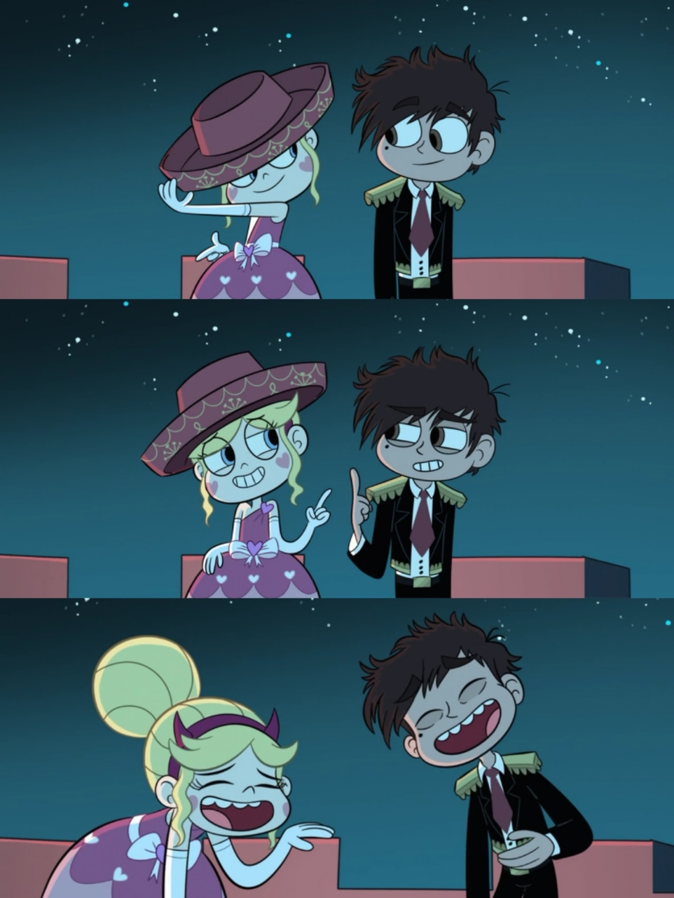 marco, starco, shipp and star butterfly