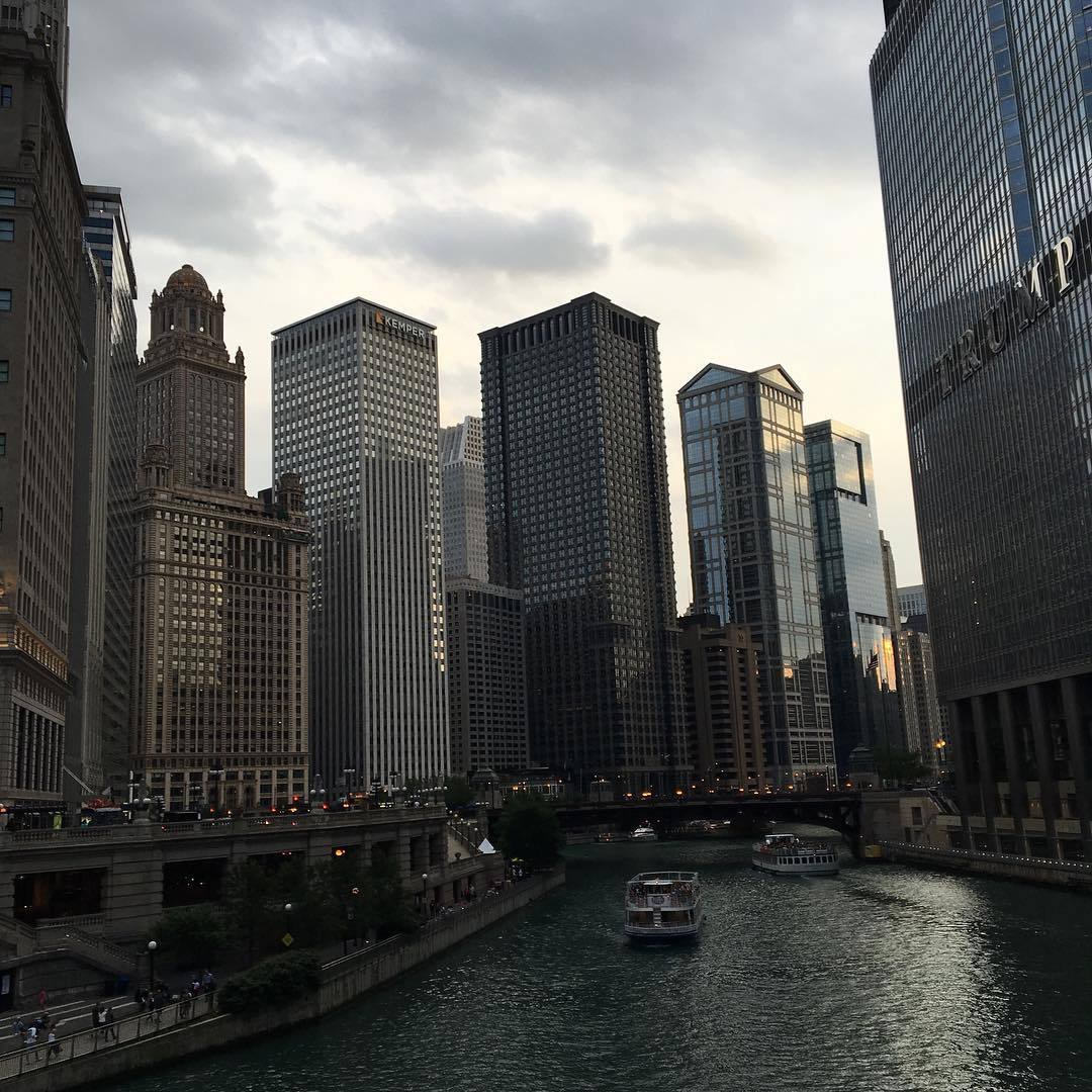 chicago and city