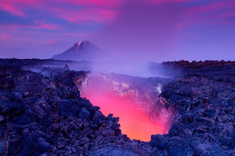 lava, nature and glow