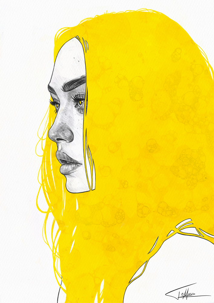 drawing, yellow tumblr, yellow aesthetic and yellow things