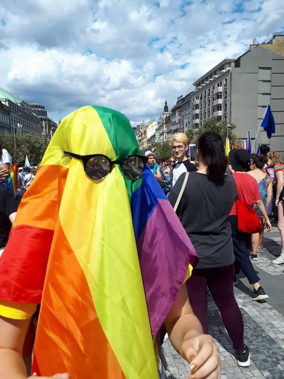 pride parade, ghost, pride and saphic