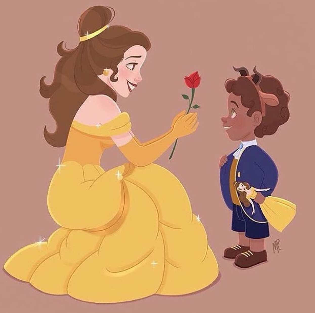 film, draw, princess and beauty and the beast