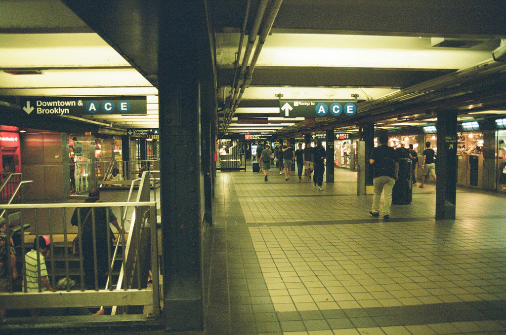 subway station, 42nd, analog and authority