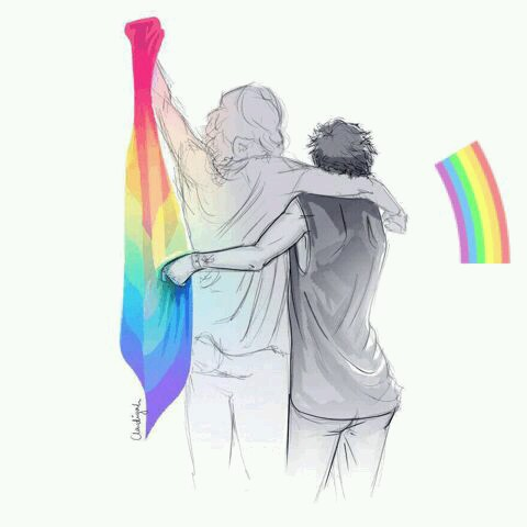larry is real, rainbow, lgbtq and lgbt