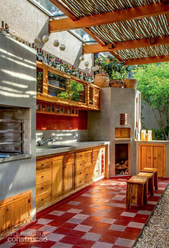 kitchen, outdoor furniture, outdoors and outdoor living