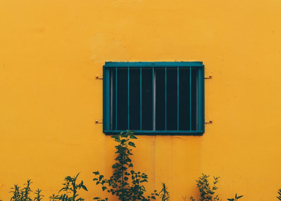 i, aesthetics, yellow buildings and outside