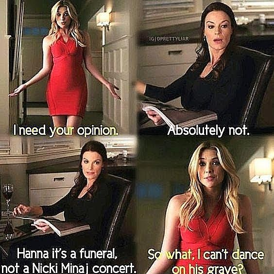 laura leighton, so what and it39s a funeral