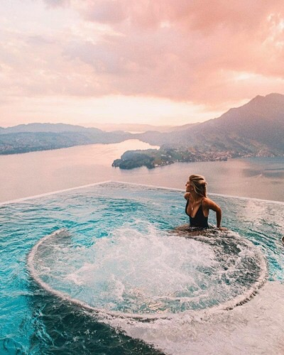 relax, panorama and water