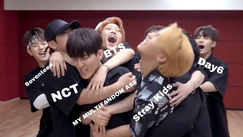 Multi Fandom Nct Meme Day6 And K Pop Funny Image 6180902 On