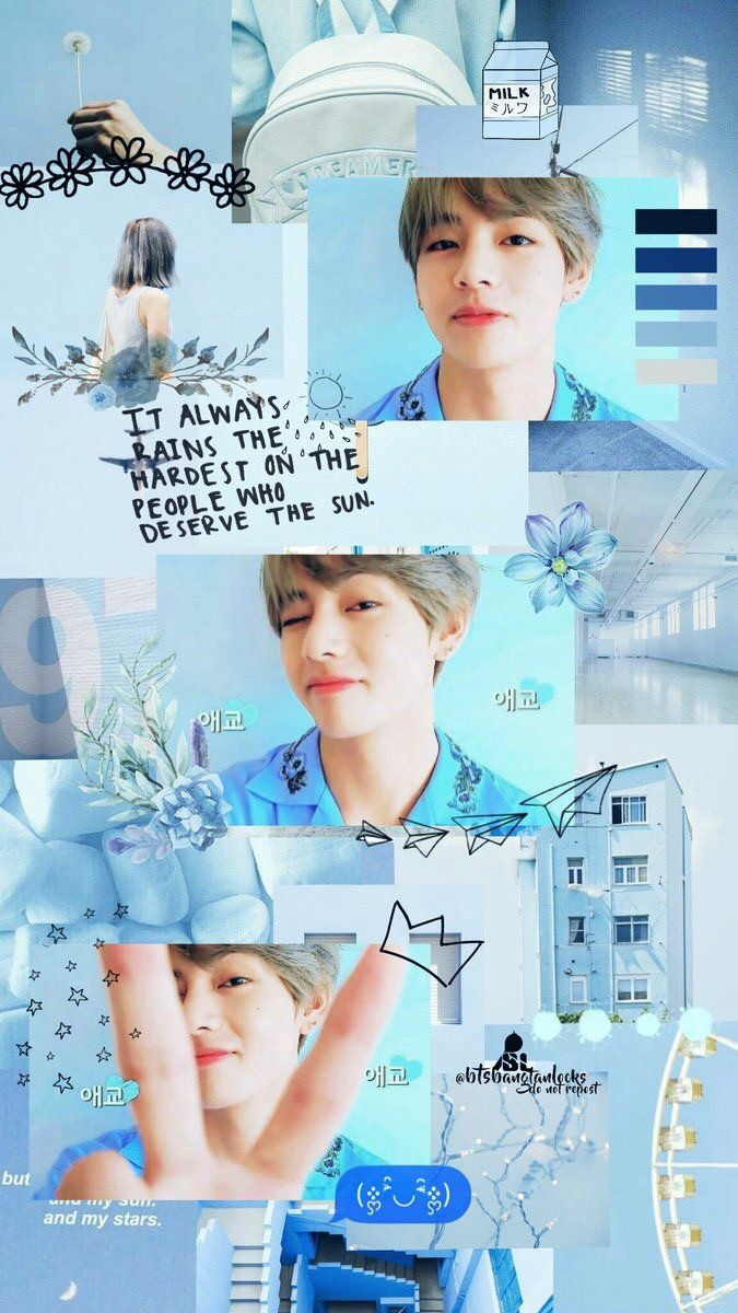 Taehyung Wallpaper Tae And V Image 6122237 On Favim Com