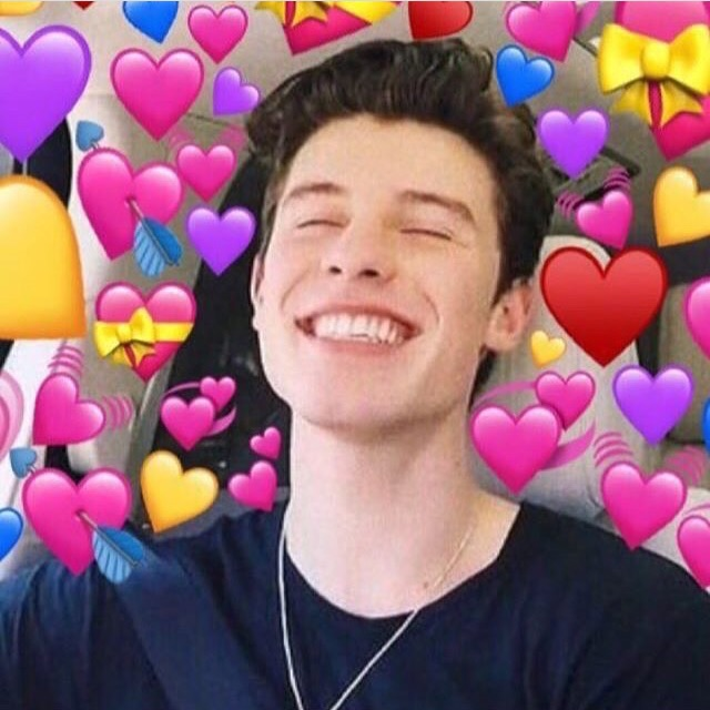 icon, reaction pictures and love