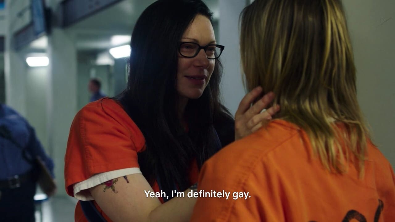 lgbt, laura prepon, orange is the new black and piper chapman