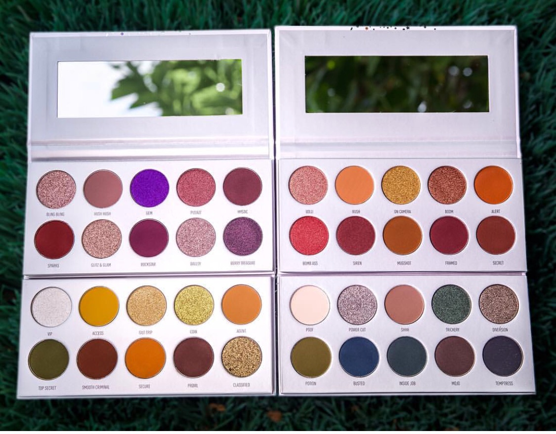palettes, makeup, eyeshadow and morphe x jaclyn hill