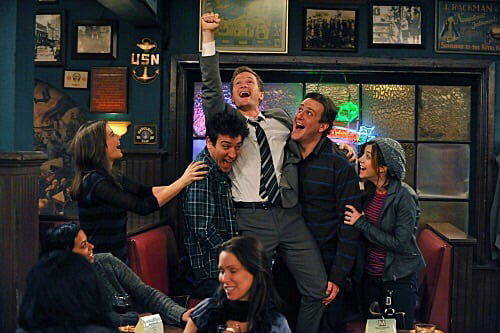 marshall, lily, himym and barney