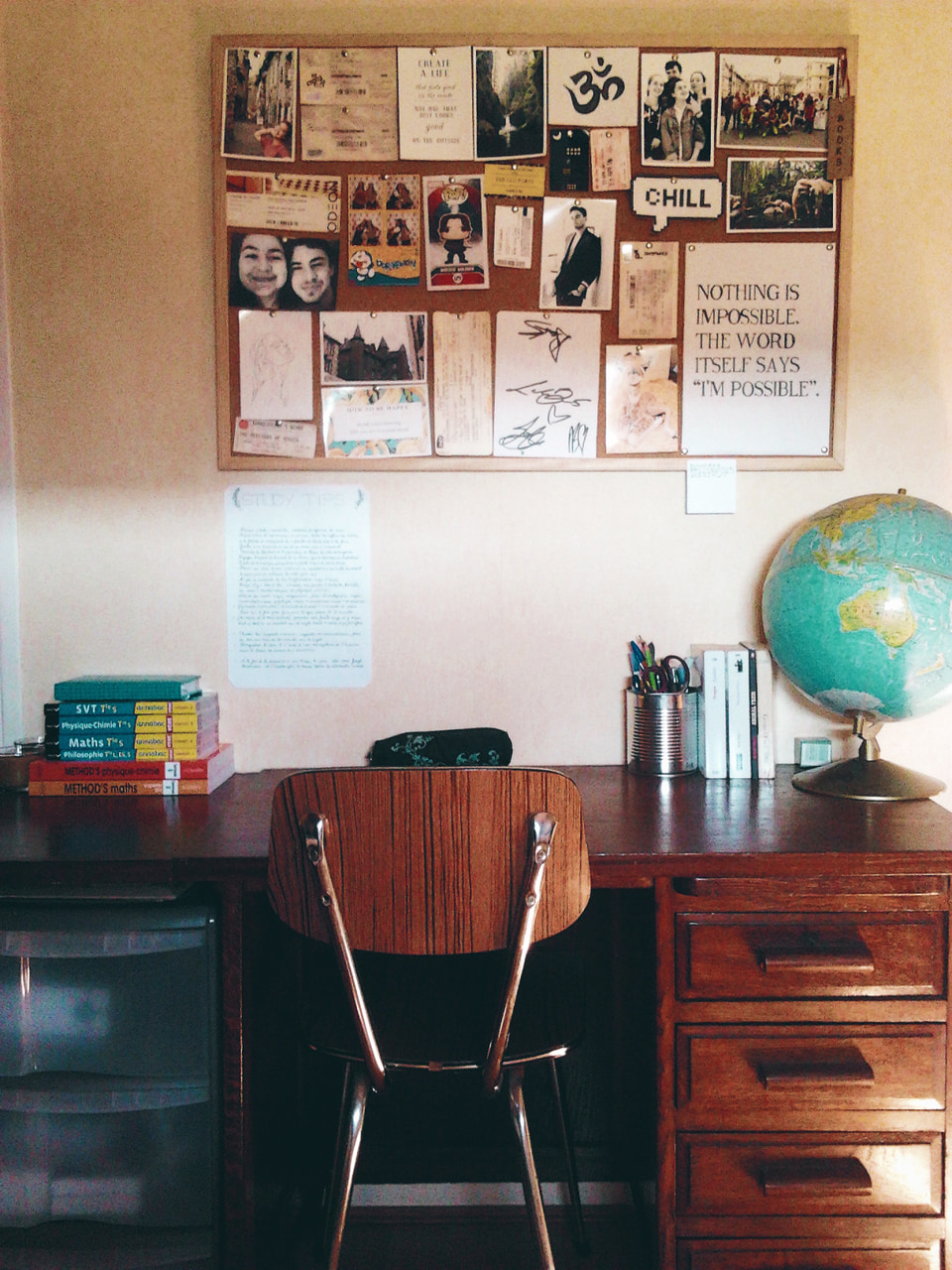 study habits, stationery, study desk and finals