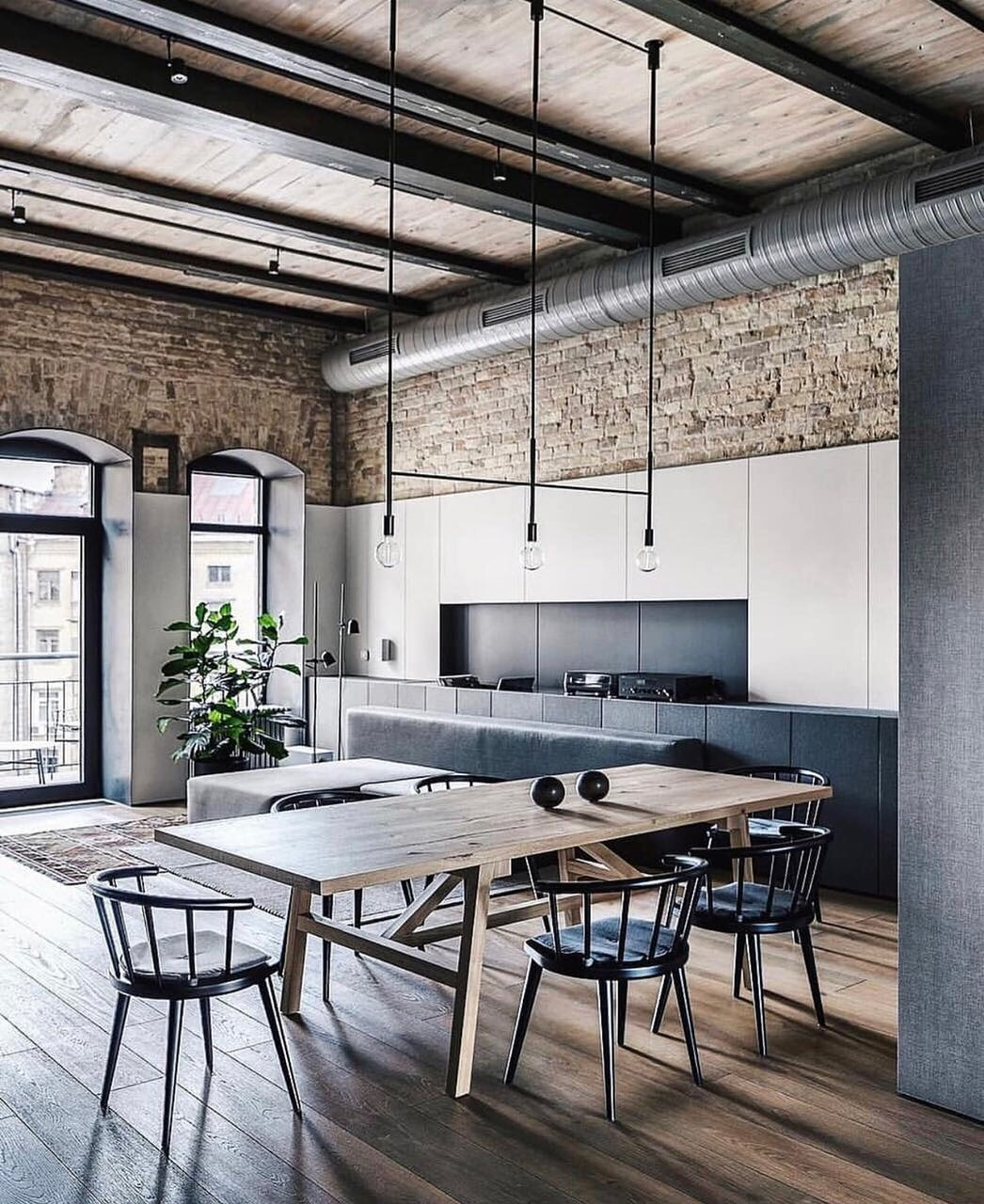 dcoration, loft industriel, inspiration and home