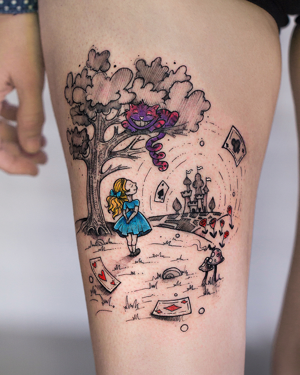 robcarvalhoart, body art, colortattoo and tattooart