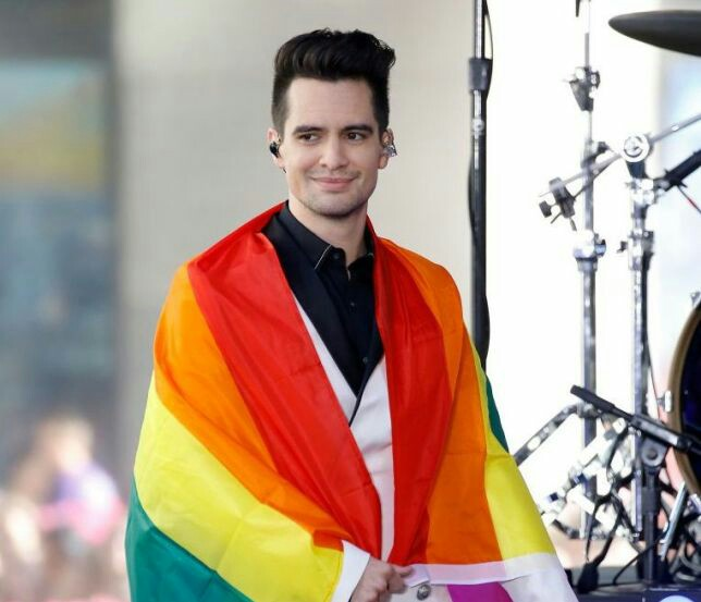 lgbt, lgbt flag, panic at the disco and pray for the wicked