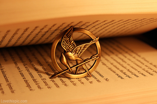 mocking jay, book, the hunger games and hunger games