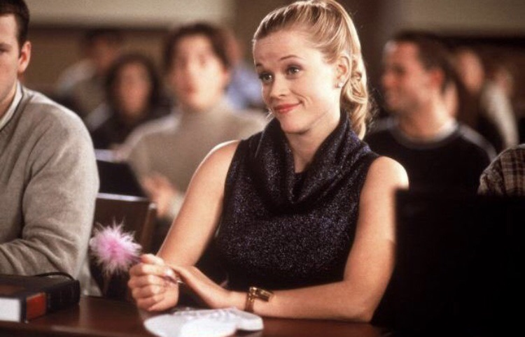 legally blonde, autumn, back to school and sweater weather