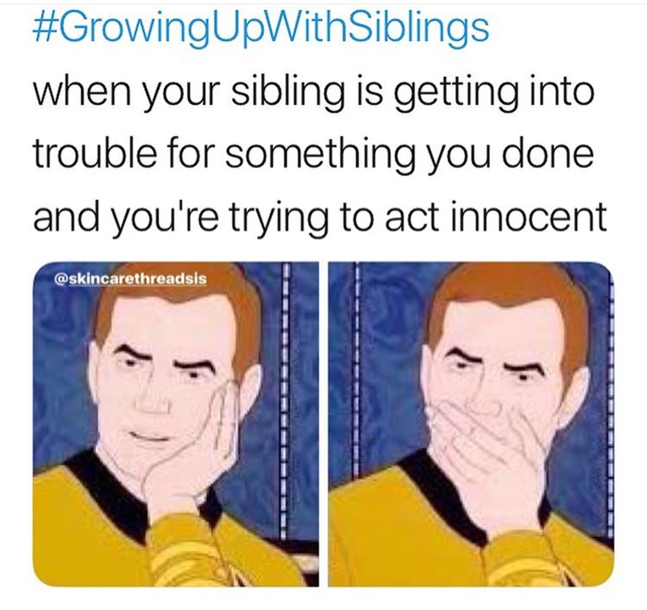 memes, growing up with siblings and meme