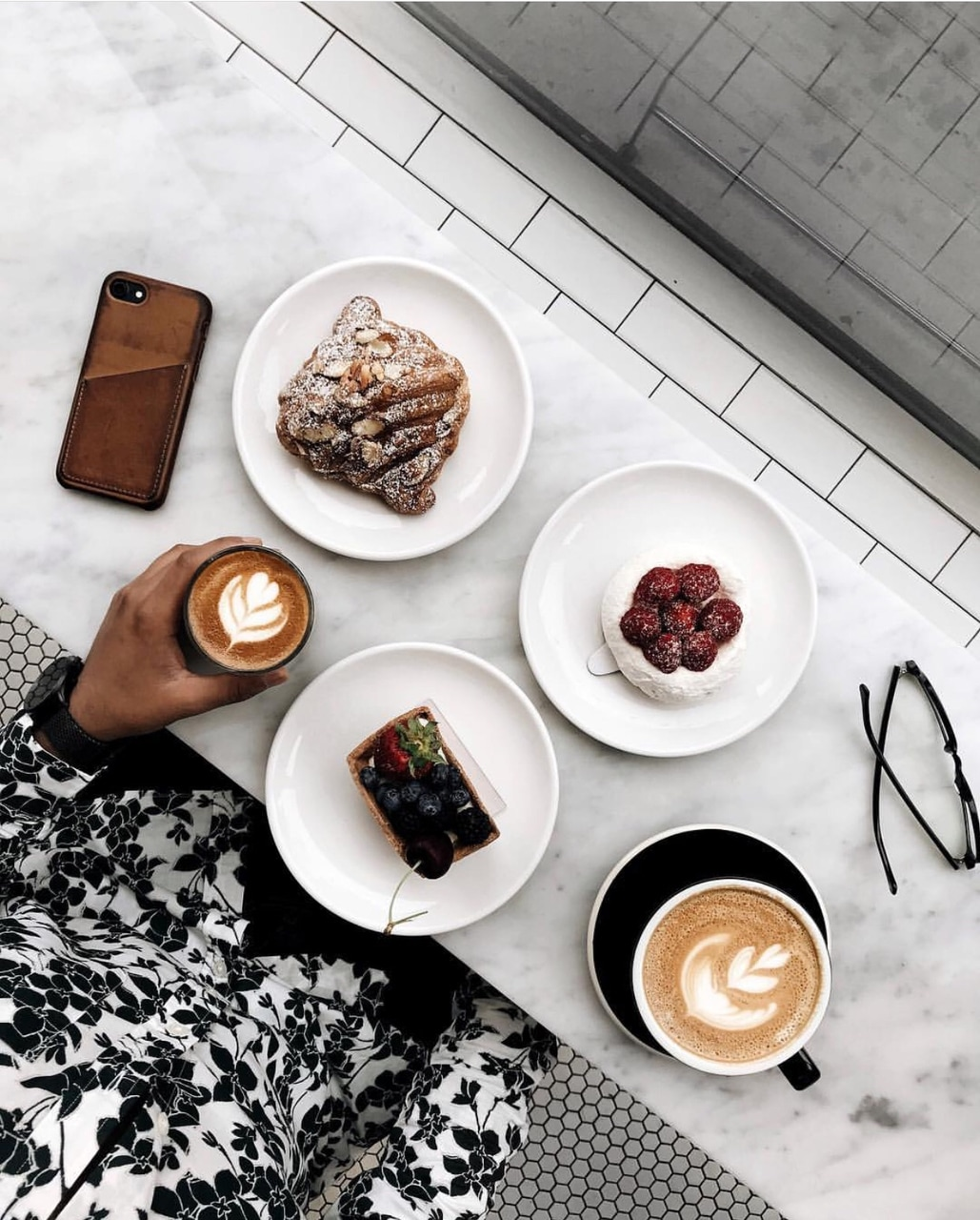 lifestyle, chic, desserts and cafe