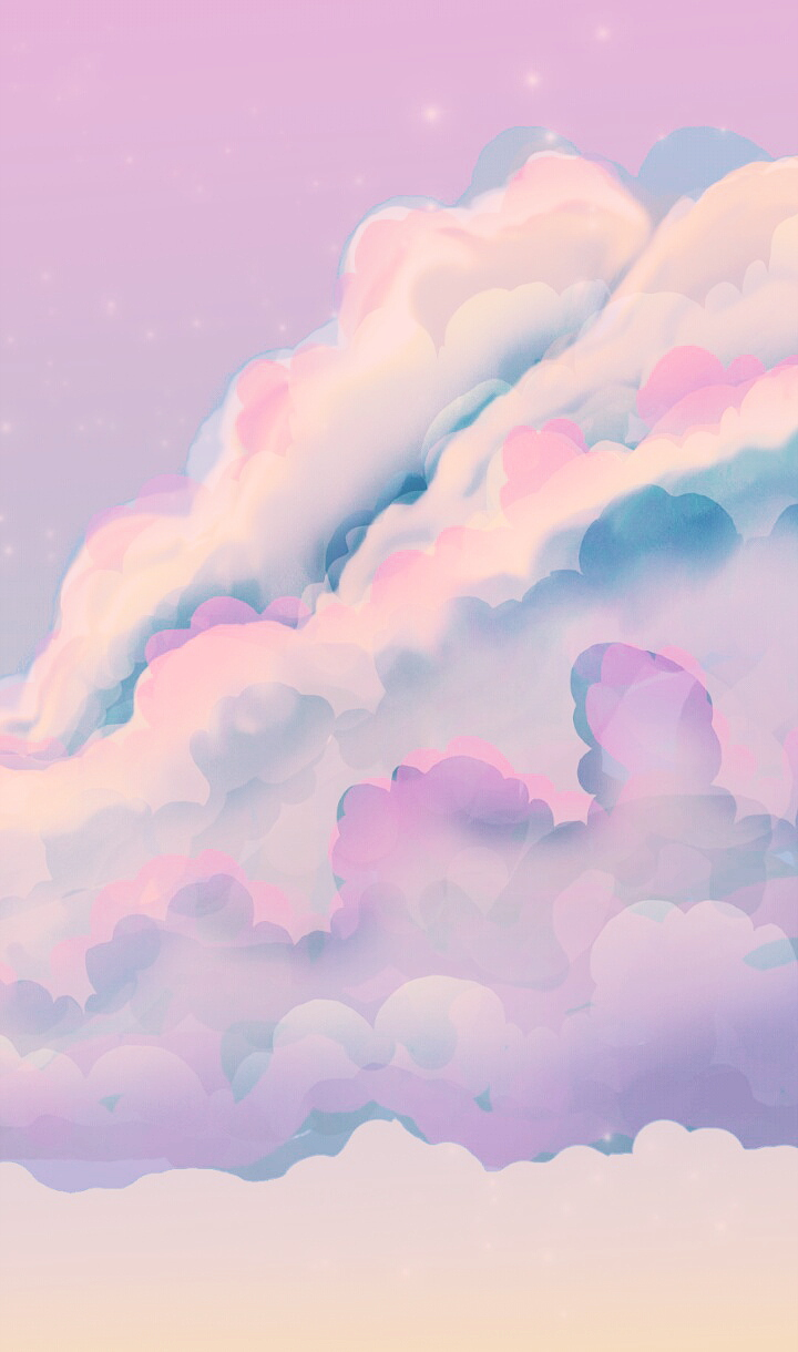 Clouds Wallpapers Purple And Colors Image 6192315 On Favim Com