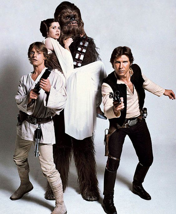 a new hope, peter mayhew, princess leia and star wars episode iv