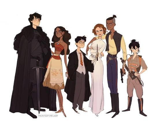 game of thrones, harry potter and star wars