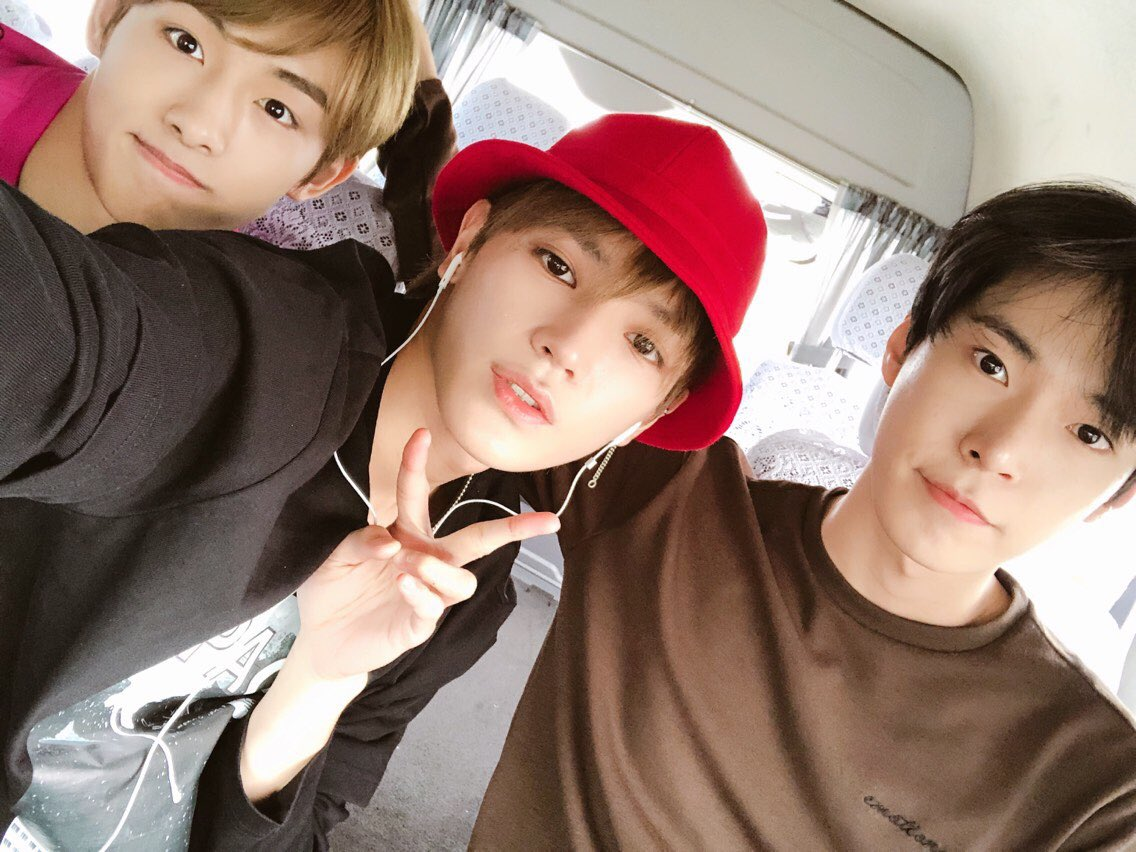 doyoung, taeil, jungwoo and taeyong