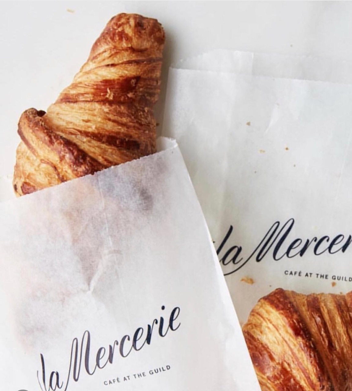 oil, butter, croissants and chic