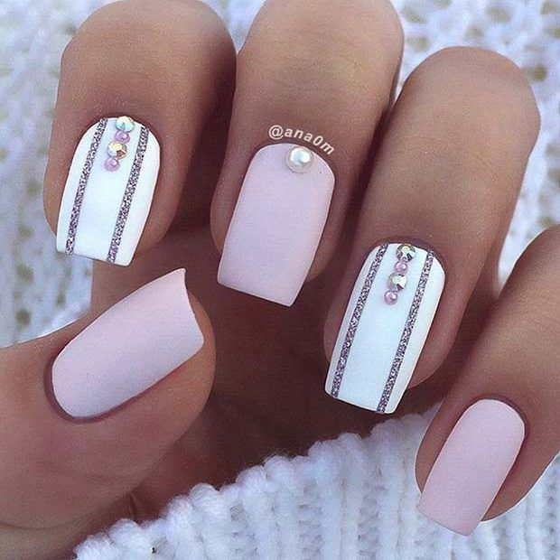 bright, pink, fashion and ongles de gel